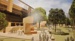 Artist's conception of proposed Eisenhower Memorial