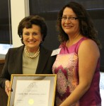 Mrs. Panetta honors Patricia Zuniga, Santa Rita School site coordinator